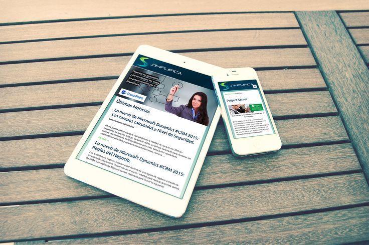 Diseño de Sitio Web - Simplifica Solutions
