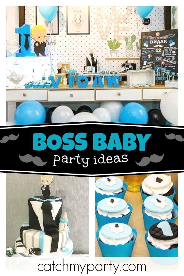 Check Out This Awesome Boss Baby Birthday Party The