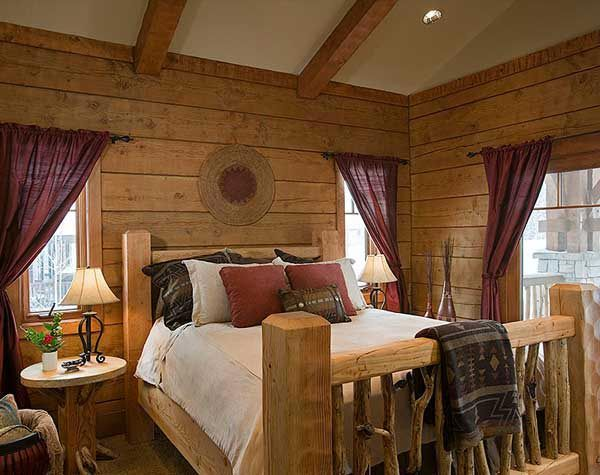 find this pin and more on cabin fever barn homes log home bedroom log cabin glamorous cabin bedroom decorating ideas - Cabin Bedroom Decorating Ideas