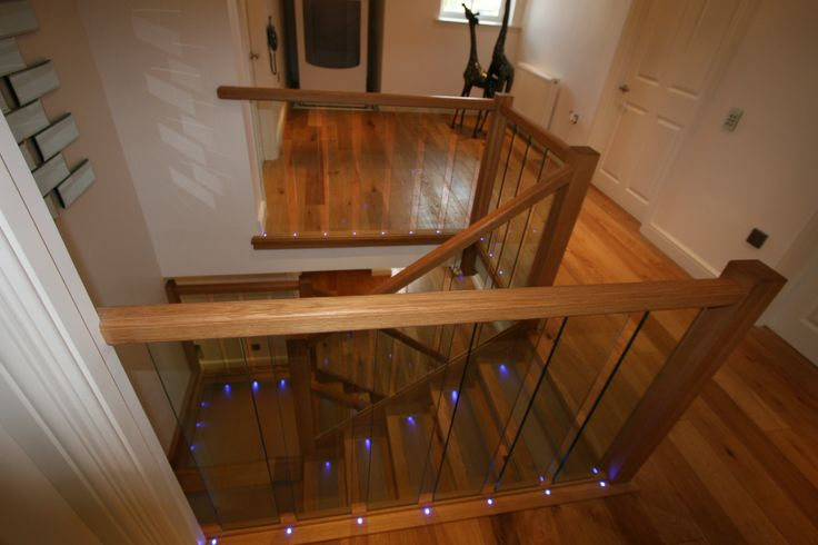 Glass Stair Railings Interior: 19 Best Images About STAIRCASES & RAILINGS On Pinterest