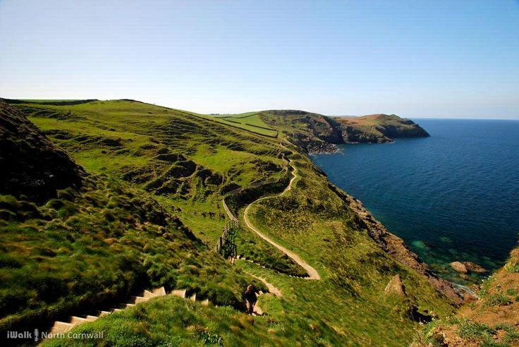The Rollercoaster Path from Port Quin to Port Isaac, Cornwall