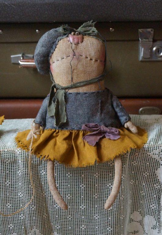 Купить Заза - разноцветный, муха, таня бурсюк, примитивная кукла, авторская кукла, лен, синтепон