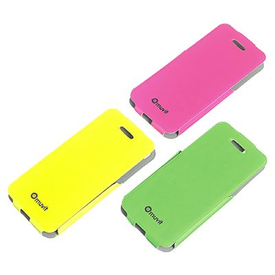FLUOSH Collection by Muvit: accessori fluo & flash per la tua estate! Fluo & flash accessories for your summer! New smartphone accessories collection with fluorescent color and glossy flash finishing.