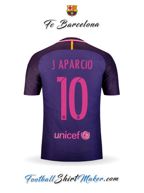 Camiseta FC Barcelona 2016/2017 Visita J aparcio 10
