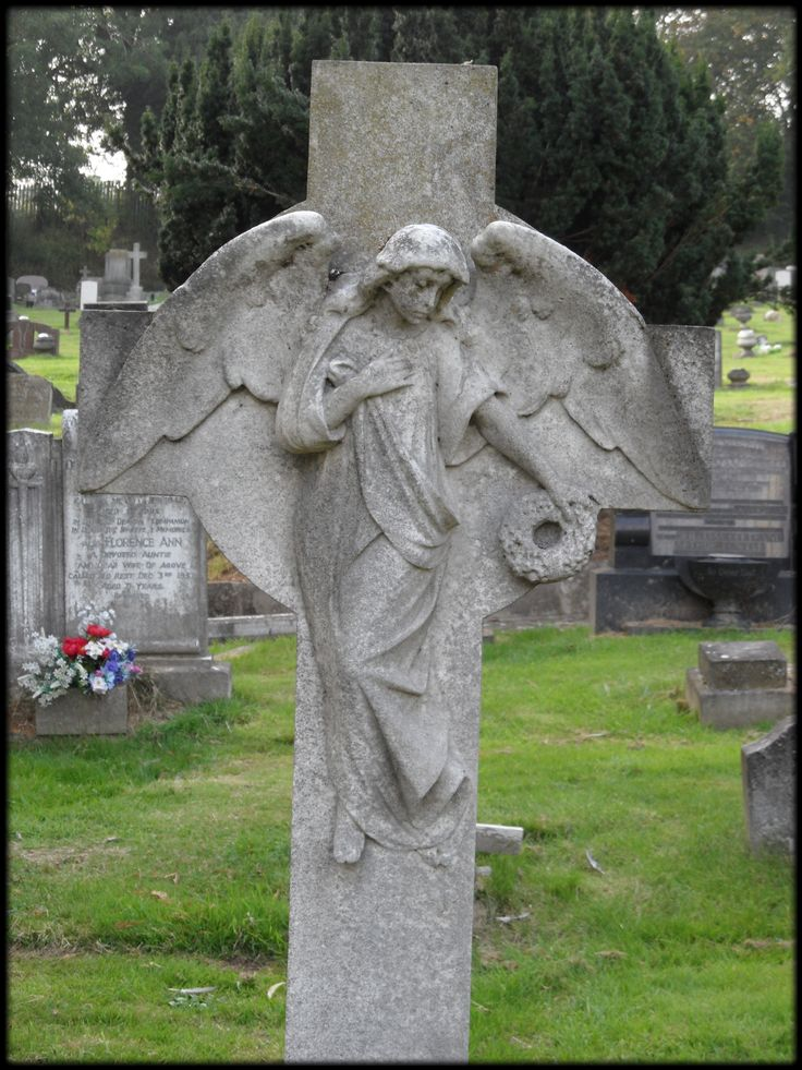 Cemetery art #Angel