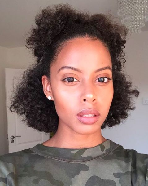 19 Styles You Need To Learn If You're Transitioning To Natural Hair #refinery29 http://www.refinery29.com/easy-natural-hairstyles#slide-17