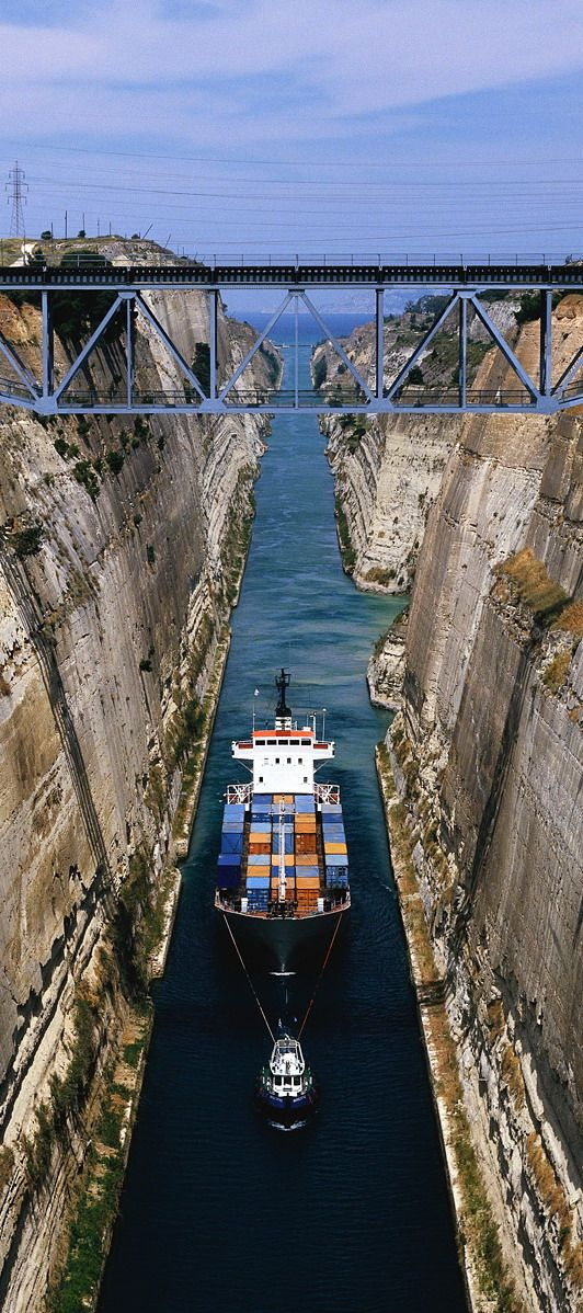 #Corinth_Canal in #Greece http://en.directrooms.com/hotels/country/2-55/