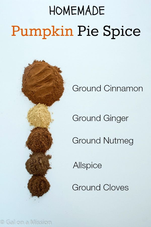 Pumpkin Pie Spice Mix from @Chelsea Haga