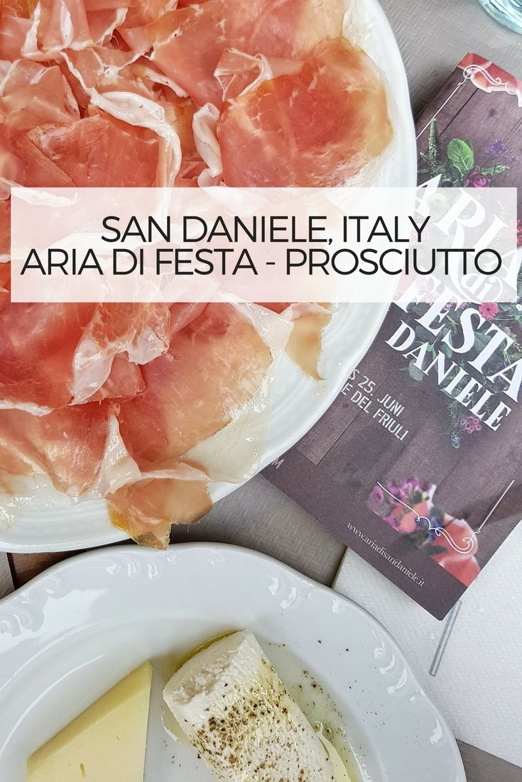 Every year in June the town of San Daniele turns into a festival area…. a playground…. a chill out lounge with DJ sound …. a vivid party zone Sound…. a festival celebrating the unique product manufactured here since many years with incomparable expertise of the 31 producers! Prosciutto di San Daniele is a perfectly suited to celebrate – and this is what people do here …. countless booths offering Prosciutto and other regional products – and – of course Prosecco and other typical Italian…