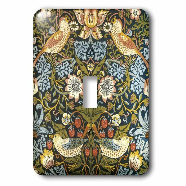 William Morris 1 Gang Toggle Light Switch Wall Plate Toggle Light Switch Plates On Wall Light Switch