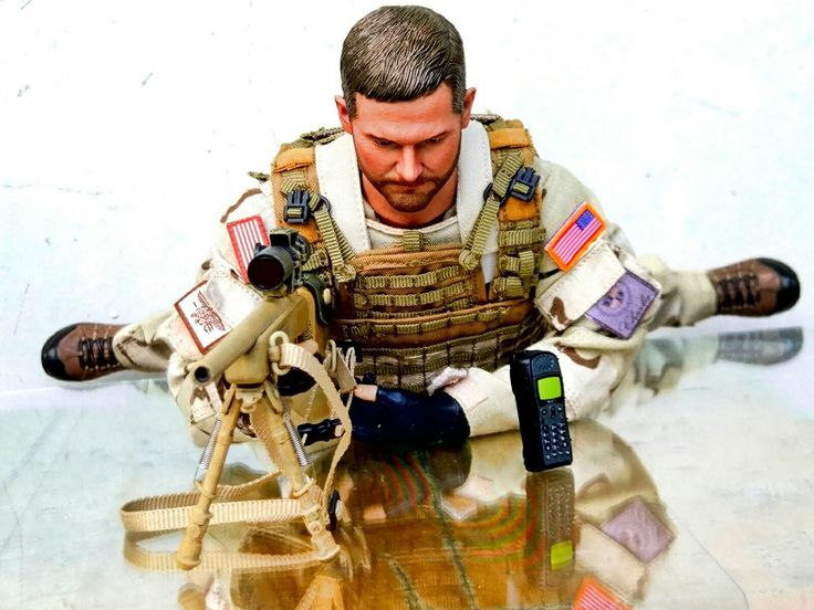 #chris #kyle #american #sniper #actionfigure #msedevgru #easy&simple #mse #M40A3 chris kyle action figure with m40a3 rifle