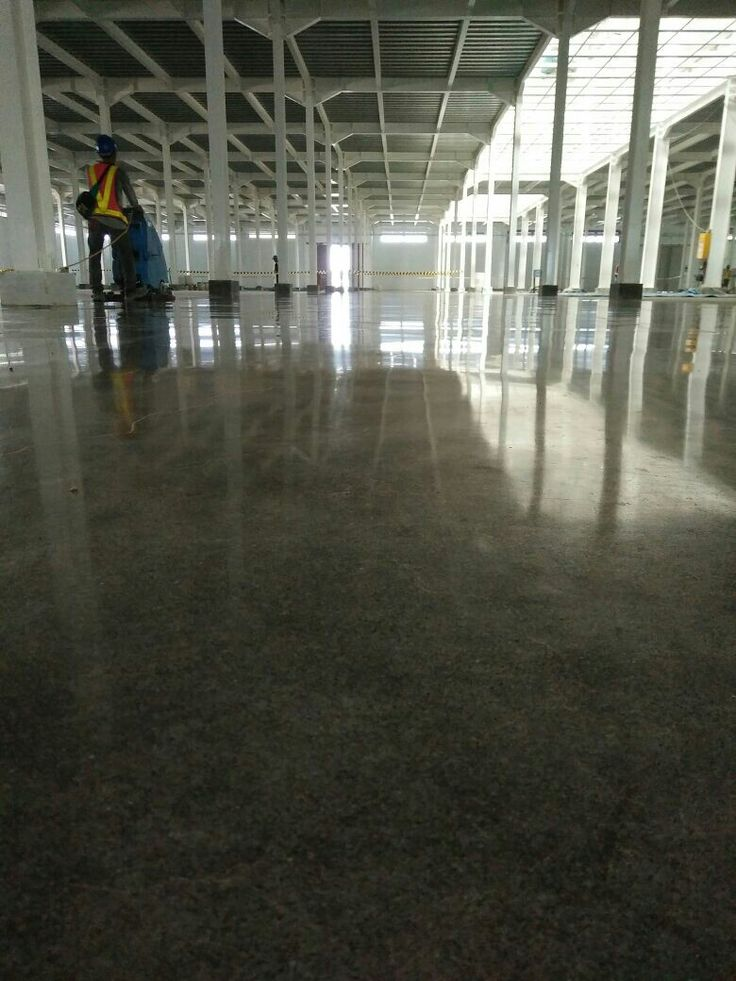Easy Cleaning with Polished Concrete | Polishing Contractor by Teknoklinz Indonesia Polished Concrete Expert