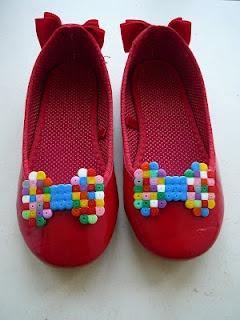 Strijkparels op je schoenen!