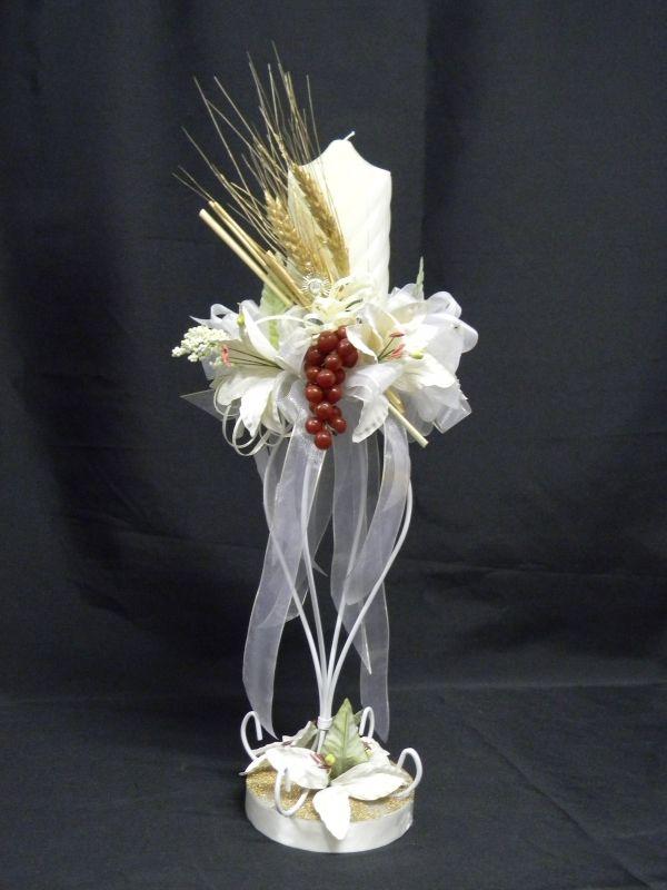 204 best decoraciones florales bodas images on pinterest wedding ideas weddings and backdrops - Como hacer centros de mesa para comunion ...
