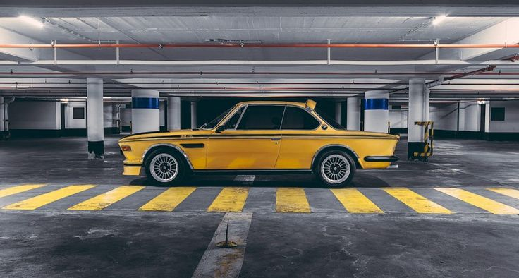BMW 3.0 CSL 1974 Gold
