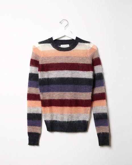 Isabel Marant Étoile Cassy Rainbow Mohair Pullover