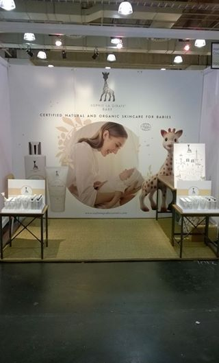 Sophie la girafe Cosmetics at #nynow. The market place for home and lifestyle.   Booth 7012, welcome!   #sophielagirafe #sophiethegiraffe #sophielagirafecosmetics #nynowmarket #nynow2015 #nynow15 #booth #tradeshow #beauty #gifts #baby #children #sensitiveskin #amazing #joinus