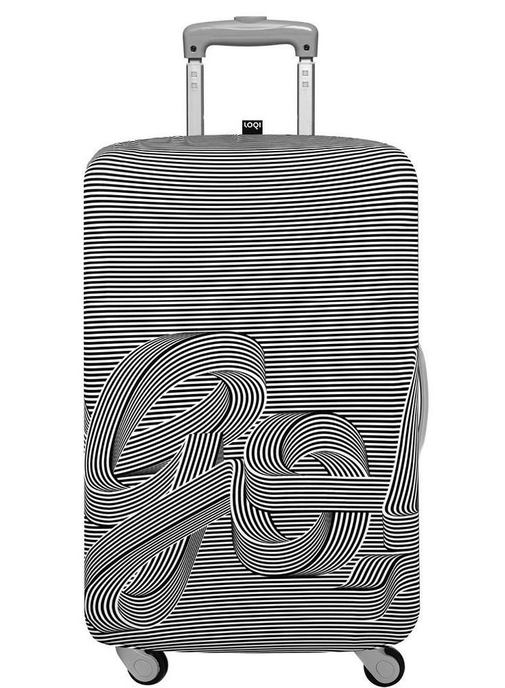 LOQI TYPE Collection – Sagmeister & Walsh, Go Go Go Luggage Cover