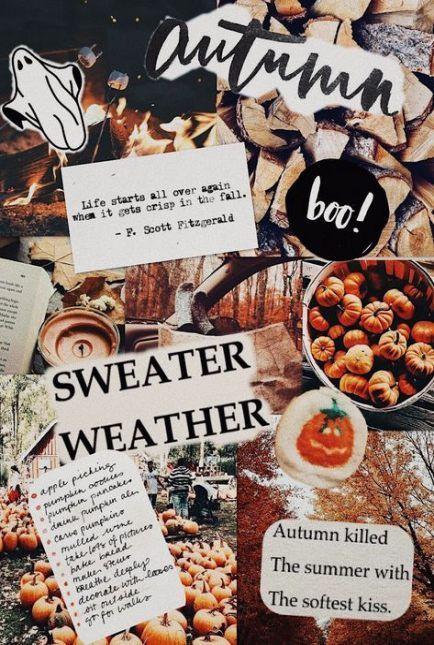 67 Ideen Wallpaper iPhone fallen ästhetisch – #ästhetisch #fallen #halloweenae…