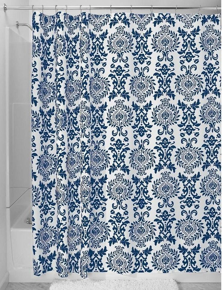dark blue shower curtain. Navy Blue Shower Curtains in 10 Awesome Patterned Designs The 25  best blue shower curtain ideas on Pinterest
