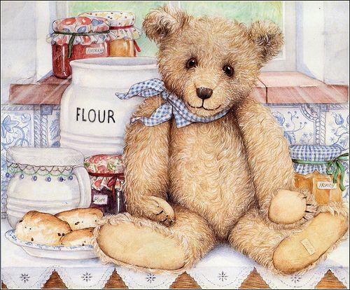 Baking teddy | Flickr - Photo Sharing!