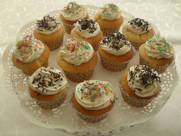 Limonlu Labneli Cupcake