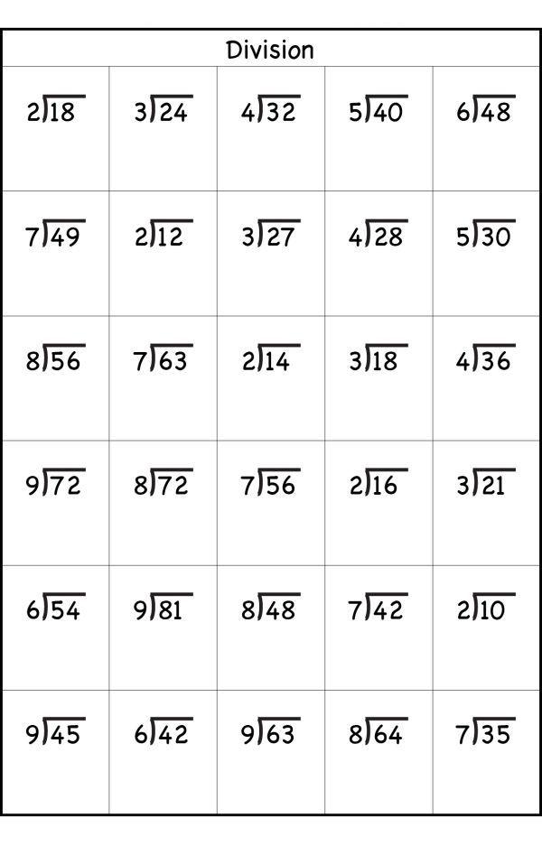 3rd Grade Division Worksheets Best Coloring Pages For Kids Multiplication Division Fo Math Division Worksheets Math Division Free Printable Math Worksheets