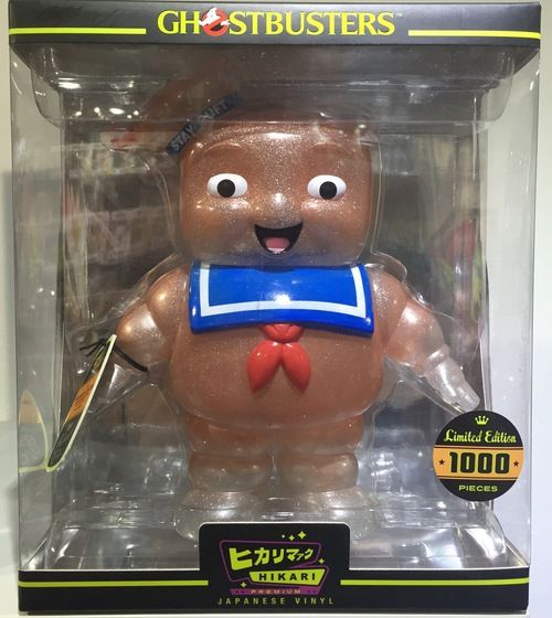 Stay Puft Marshmallow Man - Ghostbusters Pink Premium Hikari Sofubi - Entertainment Earth Exclusive by Funko - Toy Tokyo