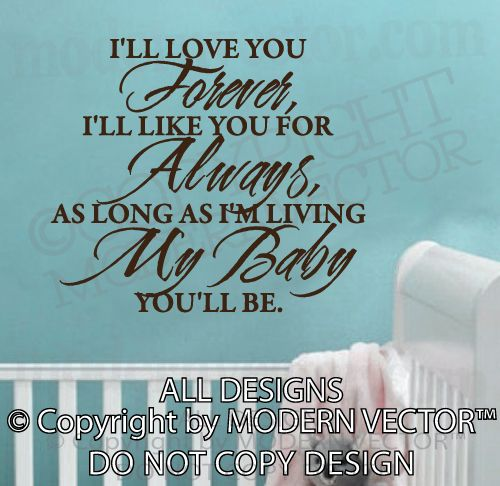 I Ll Love You Forever Quote: 89 Best Images About Love You Forever (2nd Fav Children's