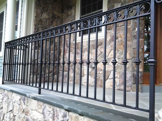 Clean The Decorative Wrought Iron Railing : Decorative Wrought Iron ...