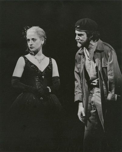 """My very first Broadway show on Broadway... Patti LuPone & Mandy Patinkin in Evita in 1980.  What can you say... when your first is perfection, or at least is so in your memory... """"where do you go from here"""" ?"""