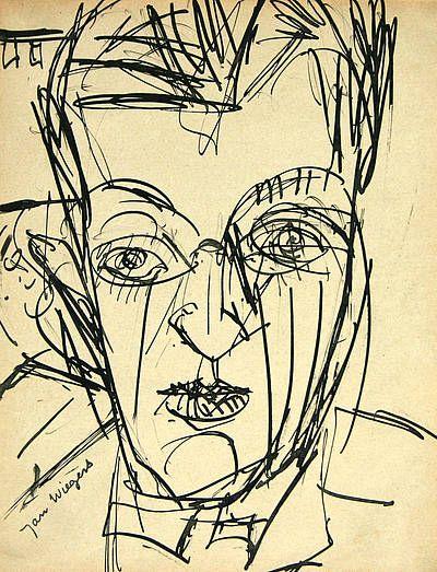 Jan Wiegers (1893-1959) Wiegers kreeg in 1922 uitnodigingen voor exposities in Parijs en Antwerpen. In 1923 werd hij voorzitter van De Ploeg en later vice-secretaris. Hij was zeer actief in de vereniging. In 1930 bedankte hij vanwege een conflict gedurende een jaar als lid. Samen met Van der Zee deed hij het voorstel voor de internationale expositie in 1933 in Groningen en was hij als secretaris nauw betrokken bij de voorbereidingen.