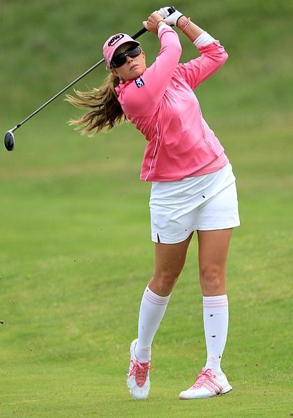 Lpga golfer paula creamer upskirt