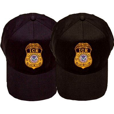 DHS ICE Badge Special Agent Hats