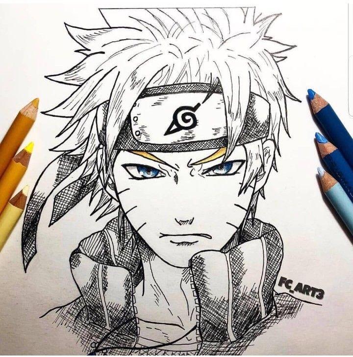 Pin De Kevin Etchart En Anime Con Imagenes Naruto Dibujos A