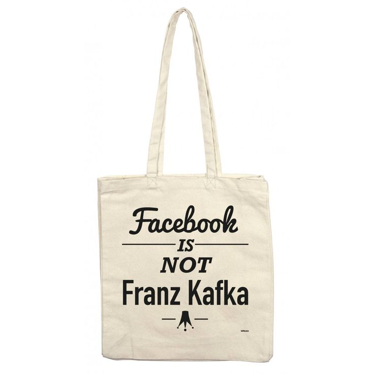 Carry with Love, Stofftaschen by teNeues, Facebook is not Kafka, © André Sendel…