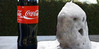 Coca Cola and Pool Chlorine