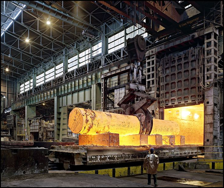 Forging steel, GARY Indiana is the world Capitol of this technology,Thanks to Elbert Gary and Andrew Carnegie.