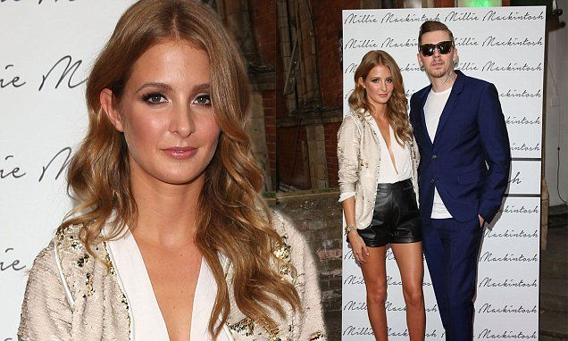 Professor Green supports wife Millie Mackintosh at clothing launch