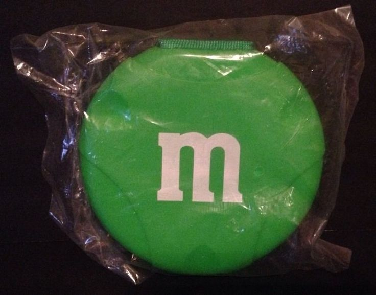 M&M Green CD Holder Case #6976 NEW IN PACKAGE #MMs