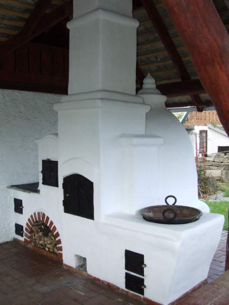 Kemence- Wood burning oven hand build  open air place  Hungary