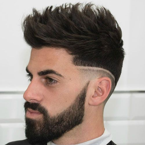 men's hairstyles oval face