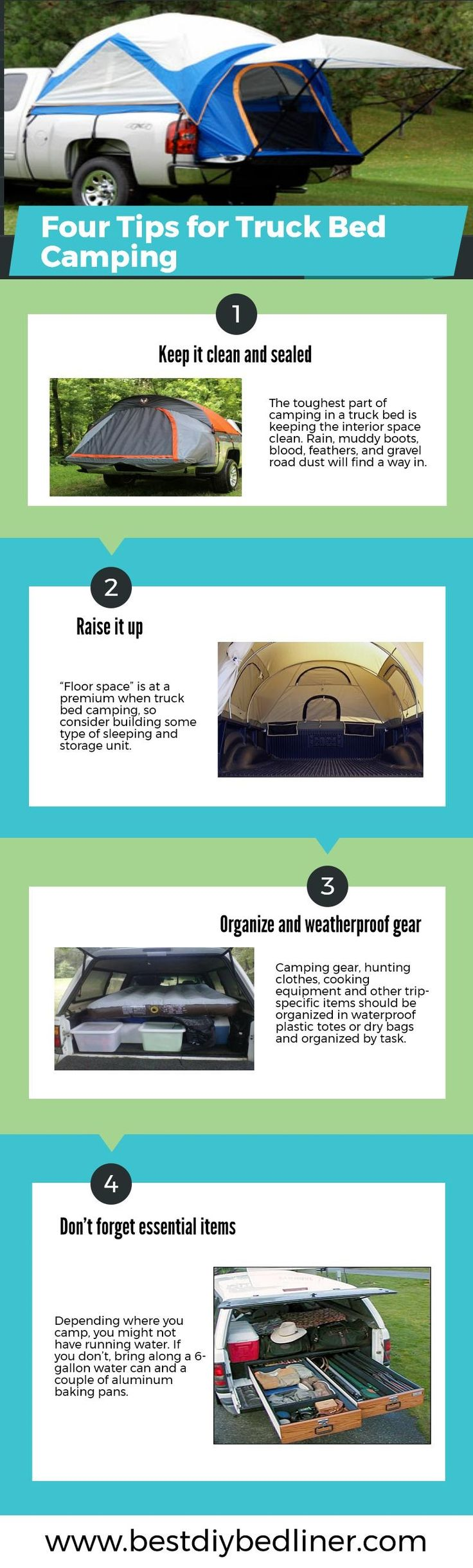 Tips for truckbed camping https www bestdiybedliner com best truck bed tent reviews if you want to make your journey memorable and enjoyable