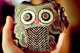 Thirty One Owl Coin Purse:  Thanks MOM, I love it!