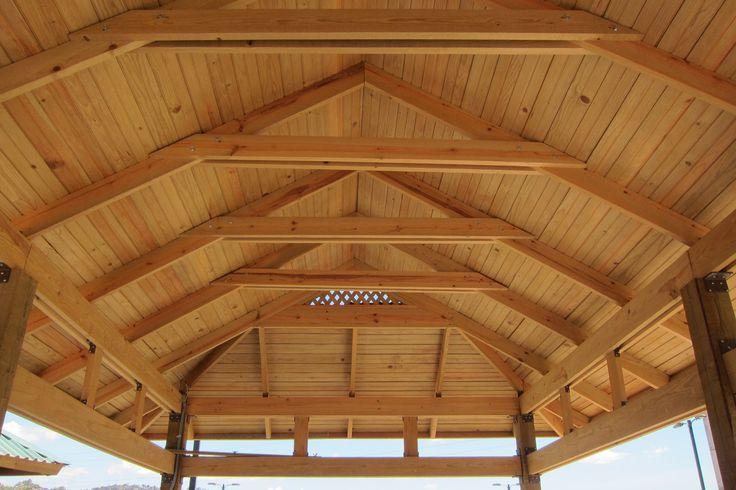30 best estructura techos images on pinterest carpentry - Estructuras de madera para techos ...
