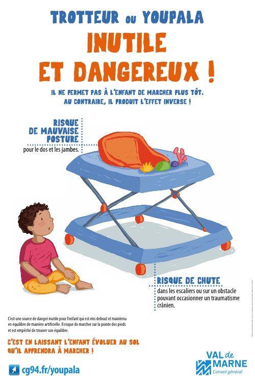 Bannissez trotteur et youpala de vos intérieurs #danger