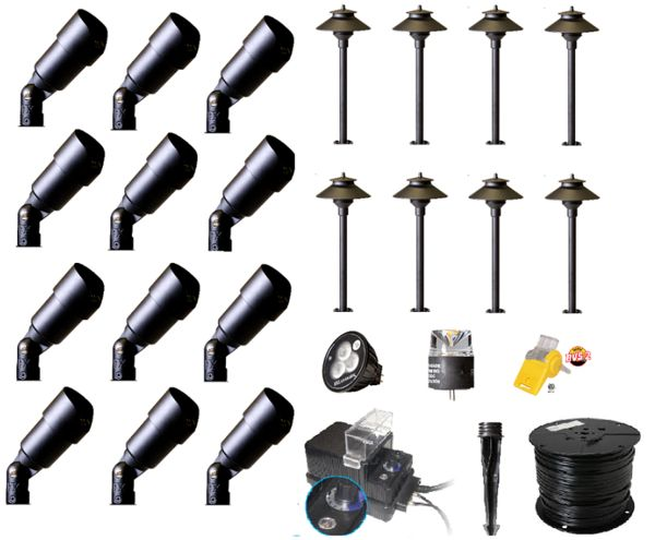 Save Up To $600.00 U0026 Get Free Shipping On Premium Quality DIY Low Voltage  Landscape Lighting