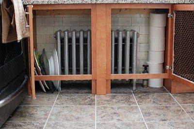 Kitchen radiator solution