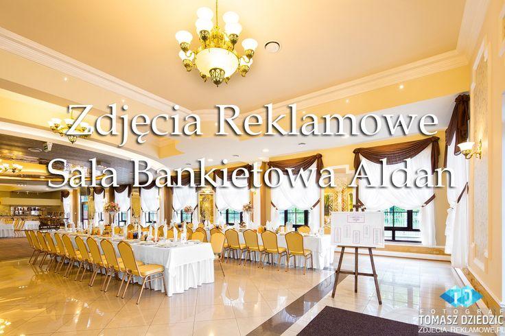 Zdjęcia reklamowe w sali weselno bankietowej Aldan w miejscowości Jaroszowiec. Sala Bankietowa Aldan położona jest 8 km od centrum Olkusza, pomiędzy Krakowem (50 km), a Katowicami (48 km) w miejsco...