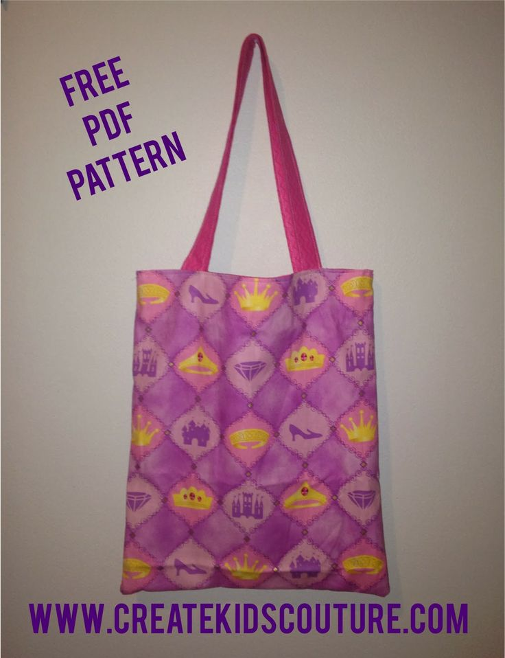 Free Tutorial Tuesday Easy Reversible Tote Bag Sewing